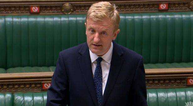 Oliver Dowden said the government is looking at the German model